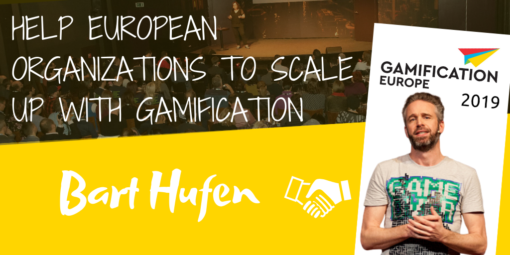 ​Help European Organizations to Scale up with Gamification
